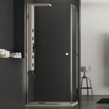 Box doccia 100x80 cm cristallo trasparente 6 mm apertura battente altezza 190 h