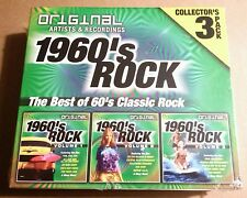 RARE NEW - THE BEST OF 1960 s CLASSIC ROCK 3 CD PACK SET (ORIGINAL ARTISTS)