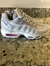 Women's Nike Air Max 95 SE Vast Grey Psychic Pink Running Shoes 7.5 AQ4138-002
