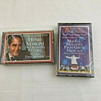 Henry Mancini & Magical Melodies From Musicals NY Pops Orchestra 2 Cassettes