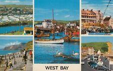 Postcard - West Bay - 5 Views