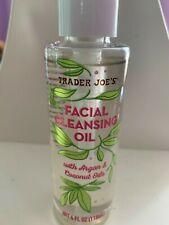 Trader Joe'S 4 oz. New Facial Cleansing Oil. Argan And Coconut Oil