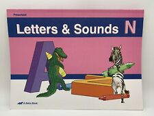 Abeka Preschool Letters & Sounds N 2 & 3 Year Olds Missing 3 Pages