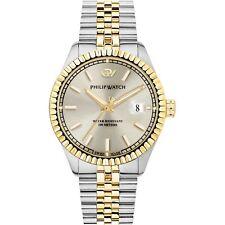 Orologio Philip Watch caribe r8253597034 bicolore jubilee 39mm uomo oro avorio