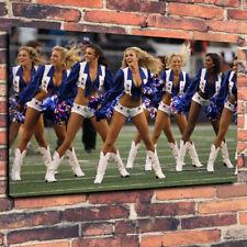 "Dallas Cowboys Cheerleaders Boîte Imprimée Toile Photo A1.30""x20"" 30 mm Deep"