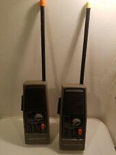 General Electric Portable Walkie Talkie Radios Morse Code Model 3-5954A Working
