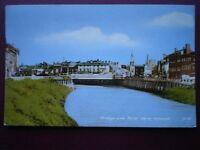 POSTCARD CAMBRIDGESHIRE WISBECH - BRIDGE & RIVER NENE