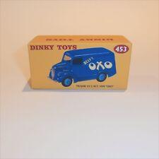 Dinky Toys 453 Trojan Van Oxo empty Reproduction box