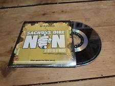 MR R - ARSENIK - PLEYMO - LAAM - DIAMS - SACHONS DIRE NON !!!!CD PROMO !!!!
