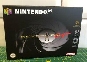 Rick Roll Eye 64  - Nintendo 64 - Cardboard Box PAL Format - N64