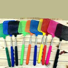 73cm Telescopic Extendable Fly Swatter Prevent Pest Mosquito Tool Plastic