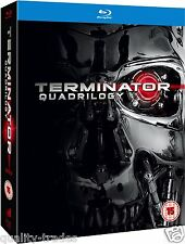 ❏ Terminator 1-4 Quadrilogy Film Blu Ray Set + SPECIAL FEATUREs ❏ 1 2 3 4