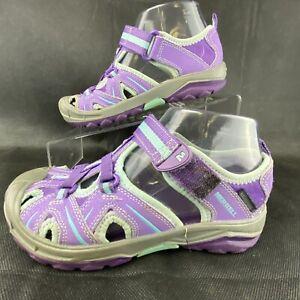 Merrell Hydro Hiker Sandals Water Shoes Purple WATERPROOF Size 2W