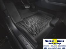 NEW FORD OEM 4 PC TRAY STYLE RUBBER MATS 2018-2019 FORD EXPEDITION