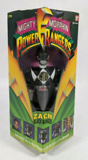 "Bandai Mighty Morphin Power Rangers Black Ranger 8"" Action Figure - Sealed"