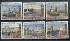 RUSSIA YR 1953,SC 1666-71,MI 1669-74,MNH,VOLGA-DON CANAL VIEWS
