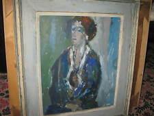 KELLHAMMER Stehphan, *XX.Jhd. Museales Damenportrait - Glette