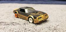 Vintage Aurora Tomy AFX Pontiac Firebird  in Black / Gold Running Chassis