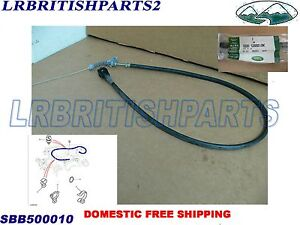 GENUINE LAND ROVER CABLE ACCELERATOR DISCOVERY II 2 OEM NEW SBB500010