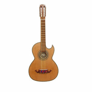 Paracho Elite Hidalgo 12 String Thin Body Bajo Sexto