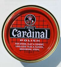 Original Red Cardinal Floor Polish for Tiles,Brick,Stone,Cement with wax 400g