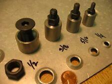 Steel Dimple Die Set 1/4 thru 1/2 Ultralight Rat Rod Sand Rail Dune Buggy