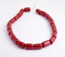 Vintage African Cherry Amber Beads Strands-resin-faux amber