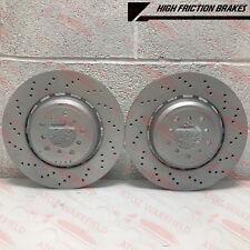 FOR BMW E92 E93 M3 2007- FRONT LEFT RIGHT BRAKE DISC DISCS PAIR PREMIUM 360mm