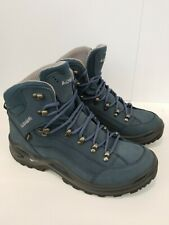 LOWA Women's Renegade GTX Mid WS Jade Blue (Rare Color) Hiking Boots Size 9.5