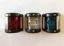 Navigation Light Port,Starboard & Masthead (Set of 3) Boat Chandlery