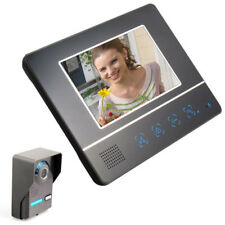 7 Inch TFT LCD Touch Screen Color Video Door Phone Cmos Night Version Camera