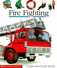 Kids new hardcover:First Discovery Book:Fire Fighting-trucks,planes fight fires!