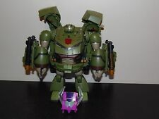 Transformers Animated Leader Class Bulkhead Complete missing instructions