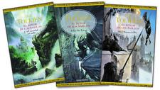 TRILOGIA EL SENOR DE LOS ANILLOS + REGALO ,4 BOOKS SPANISH ESPANOL!!!