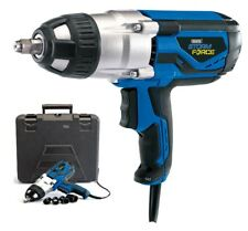 """DRAPER 1000W ELECTRIC 240V 1/2"""" DR IMPACT WRENCH IN CASE & SOCKETS 82994 NEW"""
