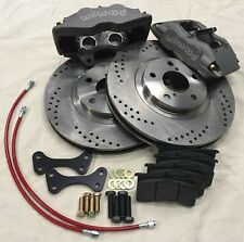 "Big Brake Kit Volvo S60 01-09 13"" 4 piston Wilwood calipers"