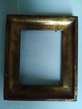 cadre bois doré feuillure 10 cm x 8 cm ancien frame photo miniature