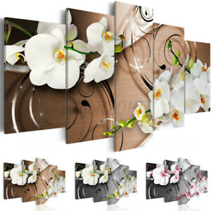 5PCS Unframed Canvas Art Oil Painting Picture Room Wall Hanging Posters Decor