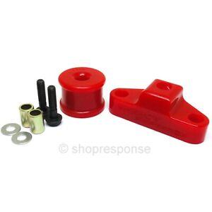 Energy Suspension 19.1102R Shifter Bushing Set Red Fits 98-14 Subaru Impreza WRX