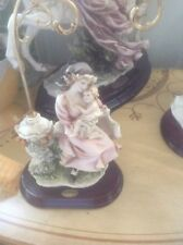 "Giuseppe Armani Figurine ""Maternity On Swig"" Mother And Baby"