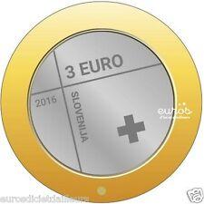 Münze 3 euro SLOWENIEN 2016 - 150ème jahrestag - Kreuz Rot Slowenisch UNC
