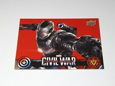 Marvel Captain America Civil War UPPER DECK Wal-Mart Card | War Machine CW22