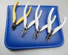 Lindstrom Pliers Set Supreme Line 7490 7590 7893 & 80 Series Cutter 8141 - 4pcs