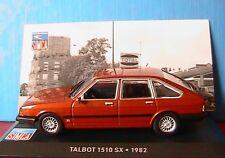 TALBOT 1510 SX 1982 IXO 1/43 ALTAYA ORANGE FONCE CUIVRE
