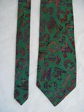 -AUTHENTIQUE cravate cravatte  MISSONI   100% soie  TBEG  vintage