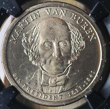 2008 SMS $1 Marint Van Buren NGC MS 67 25th Anniversary Slab