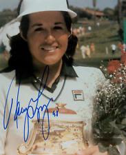 NANCY LOPEZ Hall of Fame Golf Legend Autographed