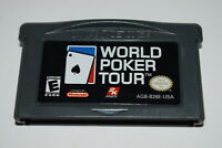 World Poker Tour Nintendo Game Boy Advance Video Game Cart