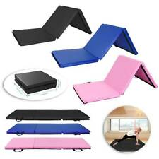 "2x5x1.2"" Thick Folding Gymnastics Mat Exercise Fitness Yoga Stretching Aerobics"