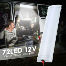 72LED 12V Cargo Camper RV Interior Light Trailer Boat Lamp Ceiling Car Van White